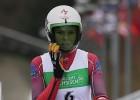 Kamaniņu braucējai Bērziņai Eiropas junioru čempionāta bronza