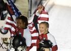 Uz ASV pārbēgusī Hamfrīsa kļūst par pasaules čempioni bobslejā