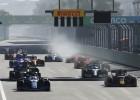 Leklēram virtuālās F1 sacīkstes Baku izvēršas katastrofālas, uzvar Rasels