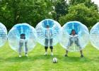 Burbuļi sargās spēlētājus burbuļfutbolā (+video)