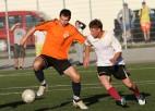 """Foto: Līderu duelī uzvar """"FK 33"""""""