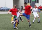 Foto: Ogres novada atklātais čempionāts futbolā tuvojas noslēgumam
