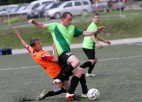 Foto: Turpinās Ogres novada atklātais čempionāts futbolā