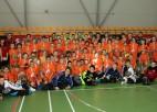 "Foto: ""Masters Floorball Camp"" noslēgusies"