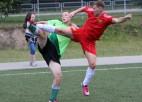 Foto: Ogres futbola čempionāts tuvojas finišam
