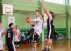 "Foto: ""Ikšķile"" sagrauj Ogres Basketbola skolas komandu"