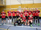 """Foto: """"FK Salaspils"""" svin uzvaru pār """"HansaMatrix"""""""