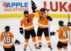 """""""Flyers"""" pārtrauc """"Penguins"""" 12 spēļu uzvaru sēriju un izvirzās līgas vadībā"""