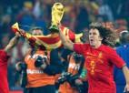 2010. gads izlašu futbolā: Spānija – pirmo reizi čempione!