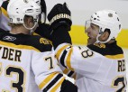 """""""Penguins"""" bez Krosbija atzīst """"Bruins"""" pārākumu"""