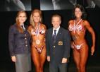 Želninai sudrabs; Palagutai bronza IFBB Pasaules kausā fitnesā un bodifitnesā