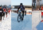 Sestdien Biķerniekos Latvijas čempionāts ziemas triatlonā