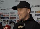 """Video: Ābols: """"Pirmajā maiņā spēlēs Bļugers, bet Sprukta vietu ieņems Bičevskis"""""""