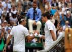 Federers 100. Vimbldonas mačā pusfināla atkārtojumā tiksies ar Raoniču