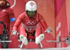 Latvijas kamaniņu braucējiem ceturtā vieta Pasaules kausa posma komandu stafetē