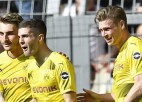 """Dortmundes """"Borussia"""" saasina cīņu par otro vietu"""