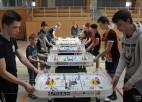 Noskaidroti Latvijas galda hokeja čempioni nominācijās