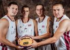 3x3 basketbola izlase sāks dalību Pasaules kausā