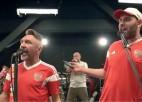 Video: Jaunā dziesma par Krievijas futbola izlasi ir augstos toņos