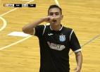 """Video: """"Nikaram"""" otrais zaudējums UEFA telpu futbola Čempionu līgas turnīrā"""