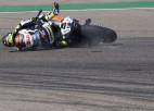 """Kračlovam smaga avārija, lauzta kāja un """"MotoGP"""" sezona beigusies"""