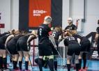 """""""Rubene"""" spēles galotnē piekāpjas Igaunijas sieviešu izlasei"""