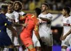 """""""Boca Juniors"""" futbolists saņem brīdinājumu par piespēles izpildīšanas veidu"""