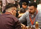 Tāla piemiņas turnīrā uzvaru izcīna Latvijas šahists Kovaļenko