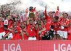 """""""Benfica"""" pēdējā kārtā triumfē Portugāles čempionātā"""