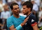 "Nadals otro reizi ""French Open"" finālā izaicinās Tīmu"