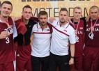 Latvijas 3x3 izlase priecīga par olimpiskās kvalifikācijas pārcelšanu prom no Indijas
