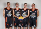 """Latvijas 3 pret 3 basketbola kvarteti zaudē Belgradas """"Challenger"""" turnīra pusfinālā"""