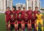 Latvijas U17 izlase ar 0:5 zaudē Izraēlai