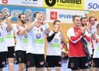 Bez čempionu noteikšanas noslēgusies arī Latvijas handbola sezona