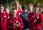 U17 izlase nenotur neizšķirtu pret baltkrieviem un paliek bez Elites raunda