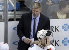 """Skandāls NHL: """"Flames"""" turpina izmeklēšanu par trenera virzienā izteiktajām apsūdzībām"""