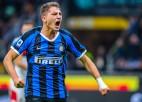 """17 gadus vecais Espozito gūst pirmos profesionālos vārtus, """"Inter"""" gadu noslēgs vadībā"""
