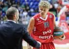 """Lietuvieši un """"Lokomotiv-Kuban"""" galotnē veic 20:2 izrāvienu, šokējot latviešu """"Khimki"""""""