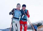 """Slēpotāja Eiduka pirms """"Tour de ski"""" pasaules rangā iekļūst 150-niekā"""