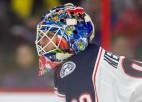 Merzļikins aicina medijus likt viņu mierā un ļaut koncentrēties hokejam