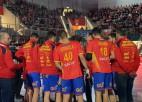 Nīderlandes handbolistiem zaudējums, Spānijai uzvara pirms EČ