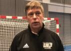 """Video: Treneris Uščins par situāciju ar Krištopānu: """"Līdz spēlei viss būs kārtībā"""""""