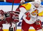 """Pret """"Dinamo"""" <i>hat-trick</i> iemetušais dānis Jensens – KHL nedēļas labākais uzbrucējs"""