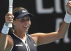"""Kontaveita Austrālijā pirmoreiz sasniedz """"Grand Slam"""" ceturtdaļfinālu"""