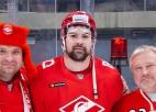 Video: Daugaviņam pirmoreiz trīs ripas KHL mačā