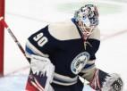 """Merzļikins būs """"Blue Jackets"""" pārstāvis NHL virtuālajā turnīrā"""