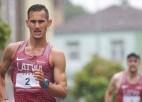 Smolonskis uzvar Spānijas čempionāta 50 kilometru sacensībās soļošanā