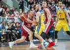 Sirsniņš nomaina Šķēli, Latvija atspēlējas no -7 un zaudē Bosnijai
