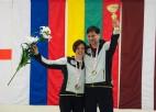 Par Latvijas čempioniem jauktajos pāros kļūst D.Barone/A.Veidemanis