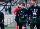 """""""Valmiera"""" treniņnometni Turcijā pabeidz ar neizšķirtu pret Ukrainas komandu"""